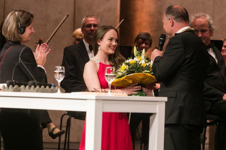Anna und Oberbürgermeister Werner Spec (Foto: Julia Kalmer)